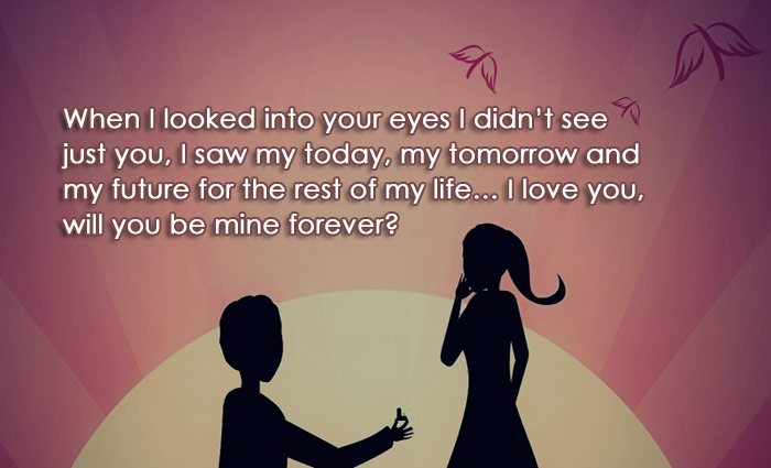 Propose day status wishes and quotes sweet and romantic