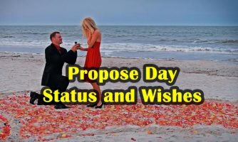 Propose Day Status, Wishes and Quotes – Sweet and Romantic