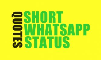 Short Status Quotes For Whatsapp